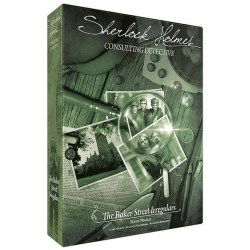 Sherlock Holmes Consulting Detective: The Baker Street Irregulars (2020) - настолна игра