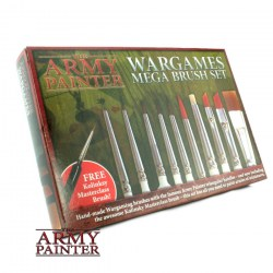 The Army Painter Wargames Mega Brush Set in Army Painter Brushes