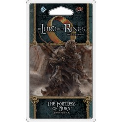 The Lord of the Rings LCG: Vengeance of Mordor Cycle #6 - The Fortress of Nurn Adventure Pack Board Game