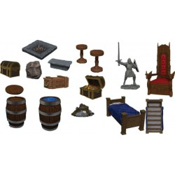 WarLock Dungeon Tiles: Dungeon Dressings в D&D и други RPG / D&D / Pathfinder терен