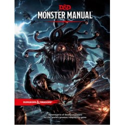 Dungeons & Dragons RPG 5th Edition: Monster Manual в D&D и други RPG / D&D 5th Edition / D&D основни книги