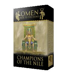 Omen: Champions of the Nile Expansion (2020) - разширение за настолна игра
