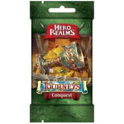 Hero Realms Deckbuilding Game: Journeys - Conquest Expansion Board Game
