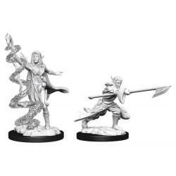 Magic: The Gathering Unpainted Miniatures: Wave 13 Joraga Warcaller & Joraga Treespeaker (Elves) в D&D и други RPG / D&D Миниатюри
