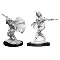 WizKids Pathfinder Battles Deep Cuts Unpainted Miniatures: Wave 14 Human Rogue Female в D&D и други RPG / D&D Миниатюри