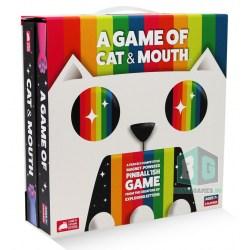 A Game of Cat & Mouth (2020) - настолна игра от издателите на Exploding Kittens
