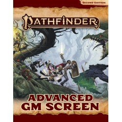 Pathfinder RPG 2nd Edition: P2 Advanced GM Screen in Pathfinder 2nd Edition Books