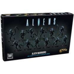 Aliens Board Game: Alien Warriors Miniatures (2021) Board Game