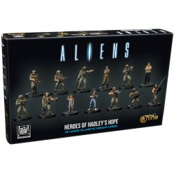Aliens Board Game: Heroes of Hadley's Hope Miniatures (2021) Board Game