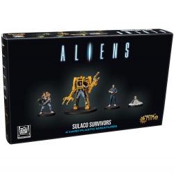 Aliens Board Game: Sulaco Survivors Miniatures (2021)