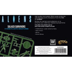 Aliens Board Game: Sulaco Survivors Miniatures (2021) Board Game