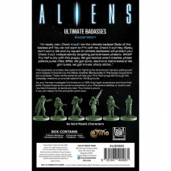 Aliens Board Game: Ultimate Badasses Expansion (2020)