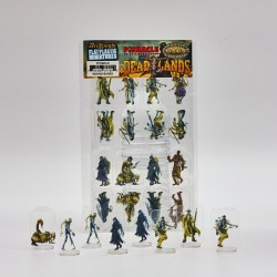 Arcknight Flat Plastic Miniatures: Deadlands (64 standees) в D&D и други RPG / Pathfinder / D&D Pawns