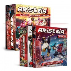 Aristeia!: All-In-One Core with Prime Time Bundle (2020) - MOBA настолна игра в Aristeia!