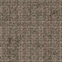 Battle Systems: Flagstone Floor Neoprene Gaming Mat (60cmx60cm) в Battle Systems