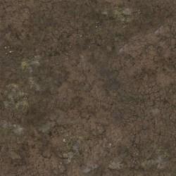Battle Systems: Muddy Streets Neoprene Gaming Mat (60cmx60cm) в Battle Systems