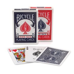 Bicycle Standard Rider Back Card Deck - Red in Playing cards