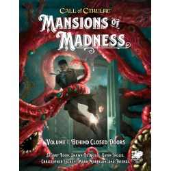 Call of Cthulhu RPG: Mansions of Madness: Vol 1 - Behind Closed Doors (Hardcover) в D&D и други RPG / Други RPG