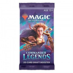 MTG: Commander Legends Booster (1 бустер) Board Game