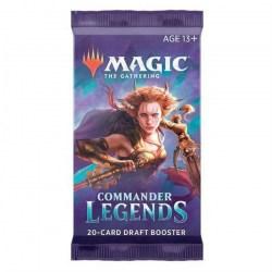MTG: Commander Legends Booster (1 бустер) в Magic: the Gathering