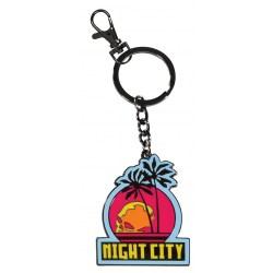 Cyberpunk 2077: Night City Keychain - ключодържател в Подаръци