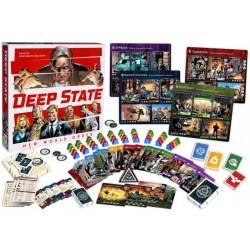 Deep State: New World Order + Global Conspiracy Expansion Bundle (2020) - настолна игра