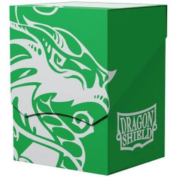 Dragon Shield Deck Shell - Green/Black Interior (100+ or 80 double-sleeved cards) in Deck boxes