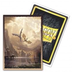 Dragon Shield Standard Sleeves - Brushed Art Clear Sleeves -  Among the Sierra Nevada - прозрачни протектори за карти 100 бр.