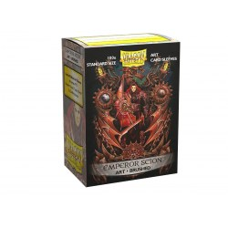 Dragon Shield Standard Sleeves - Brushed Art Clear Sleeves -  Emperor Scion - 100 per pack in Standard Size (Magic, LCG игри и др., 63.5x88мм размер на картите)
