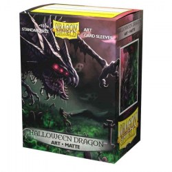 Dragon Shield Standard Sleeves - Matte Art Sleeves -  Halloween Dragon 2020 - матови протектори за карти 100 бр.