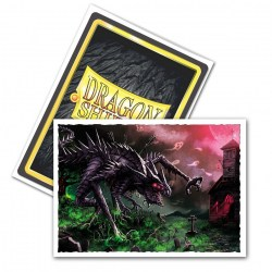 Dragon Shield Standard Sleeves - Matte Art Sleeves -  Halloween Dragon 2020 - 100 per pack in Standard Size (Magic, LCG игри и др., 63.5x88мм размер на картите)