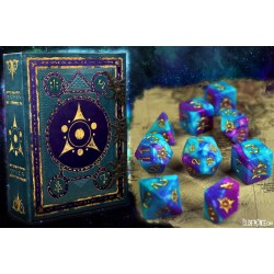 Elder Dice: Sigil of the Dreamlands - Kadathian Ice Polyhedral Set в Зарове за игри