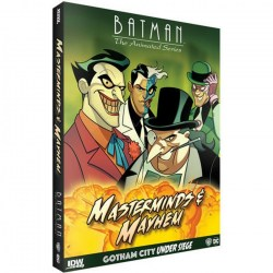 Batman: The Animated Series – Gotham City Under Siege: Masterminds & Mayhem Expansion (2019) - разширение за настолна игра