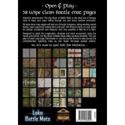 """Loke Battle Mats: The Big Book of Battle Mats Volume II (12x8"""", A4, 60 pages) в D&D и други RPG / D&D / Pathfinder терен"""