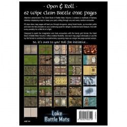 """Loke Battle Mats: The Giant Book of Battle Mats Volume II (16.5x12"""", A3, 62 pages) в D&D и други RPG / D&D / Pathfinder терен"""