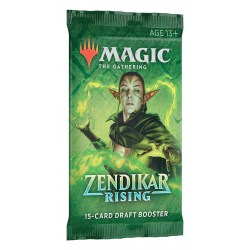 MTG: Zendikar Rising Draft Booster (1 бустер)