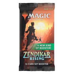 MTG: Zendikar Rising Set Booster (1 бустер) в Magic: the Gathering