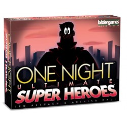 One Night Ultimate Super Heroes (2019) - парти настолна игра