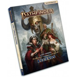 Pathfinder RPG 2nd Edition: Lost Omens - Legends in Pathfinder 2nd Edition Books