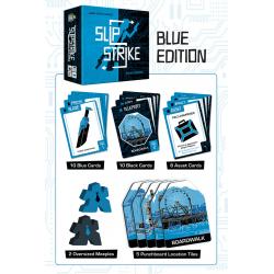 Slip Strike Blue Edition (2020) Board Game