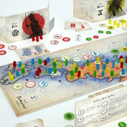 Small Samurai Empires (2020) - настолна игра