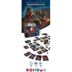(Pre-order) Star Scrappers: Orbital (Space Station, 2020) - настолна игра