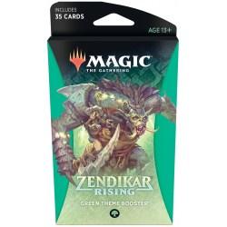 MTG: Zendikar Rising Theme Booster - Green (1 бустер)