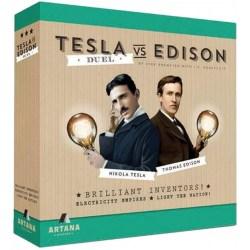 Tesla vs. Edison: Duel (2017) - настолна игра за двама