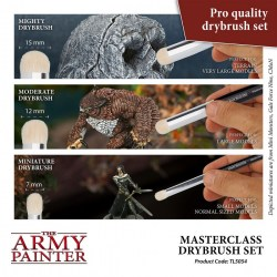 The Army Painter - Masterclass: Drybrush Set in Army Painter Brushes