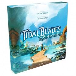 (Pre-order) Tidal Blades: Heroes of the Reef (Retail Edition, 2020) - настолна игра