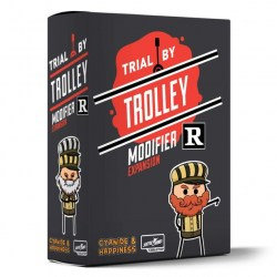 Trial by Trolley: R-Rated Modifier Expansion (2020) Board Game