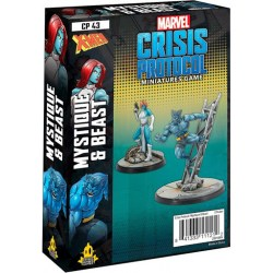 Marvel: Crisis Protocol – Beast and Mystique Expansion (2020) в Marvel: Crisis Protocol