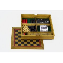 Wooden Games Workshop: Six In One Board Game
