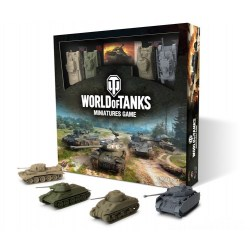 World of Tanks Miniatures Game Starter Set (2020) - настолна игра с миниатюри